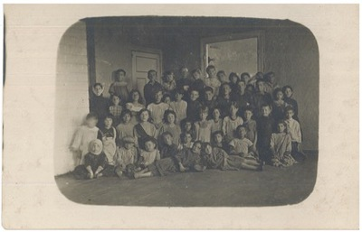 Opening of the Kinder-kikh (Children's Kitchen) in Bialystok, October 5, 1916